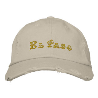 El Paso Embroidered Hat