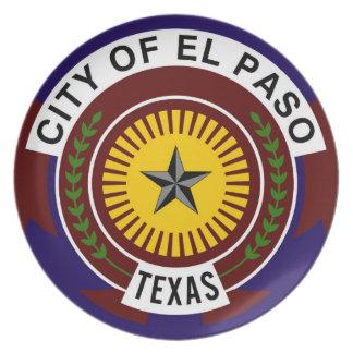 el paso flag united states america symbol texas plate