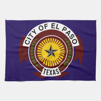 el paso flag united states america symbol texas towels