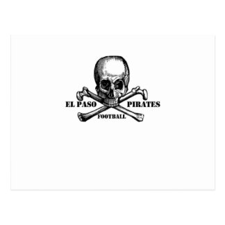 El Paso Pirates Souveniers Postcards