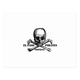 El Paso Pirates Souveniers Postcard