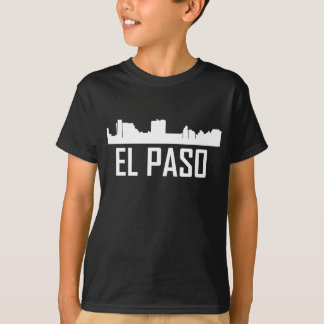 El Paso Texas City Skyline T-Shirt