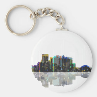El Paso Texas Skyline Key Ring