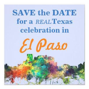 EL PASO, TEXAS SKYLINE SP - INVITATION