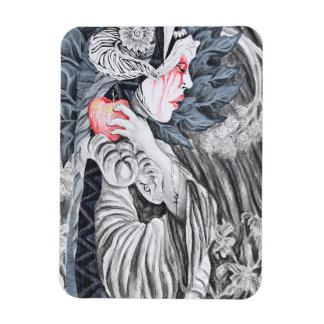 El Pecado Original Magnet by Samuel Rios Cuevas