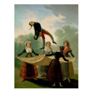 El Pelele  1791-2 Postcard
