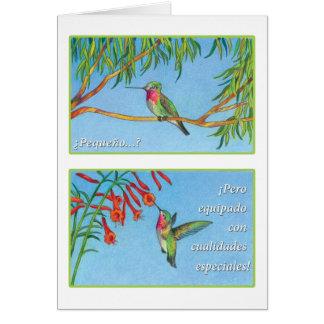 El Picaflor, tarjeta Card