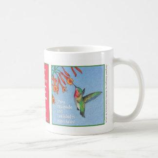 El Picaflor, taza de café Coffee Mug