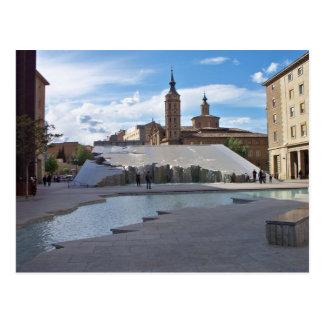 El Pilar square Postcard