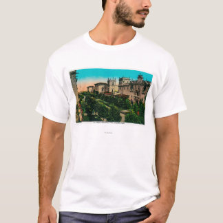 El Prado from West Gate, Balboa Park T-Shirt