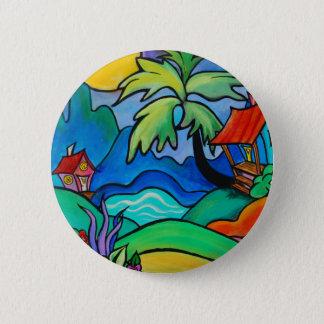 El Sabo  Dominican Fantasy 6 Cm Round Badge