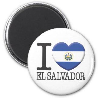 El Salvador 6 Cm Round Magnet