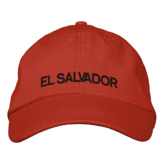 El Salvador Adjustable Hat