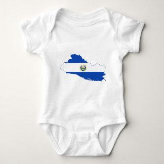 El Salvador Baby Bodysuit