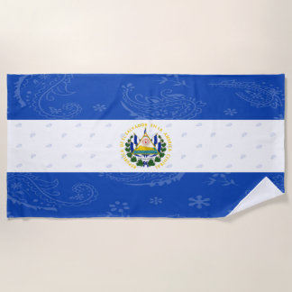 El Salvador Beach Towel