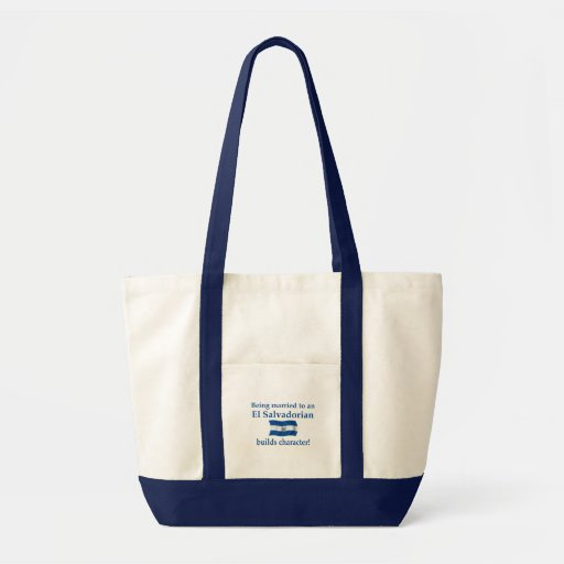 El Salvador Builds Character Bag