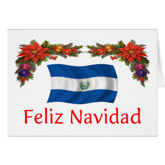 El Salvador Christmas Greeting Card