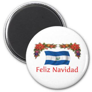 El Salvador Christmas Refrigerator Magnets