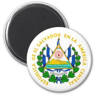 El Salvador COA 6 Cm Round Magnet