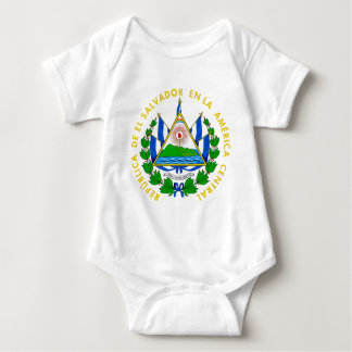 El Salvador Coat of Arms Baby Bodysuit