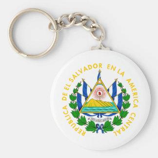 El Salvador coat of arms Key Ring