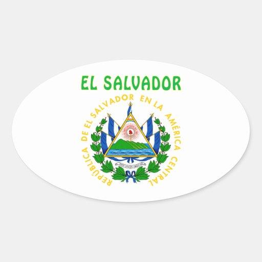 El Salvador Coat Of Arms Stickers