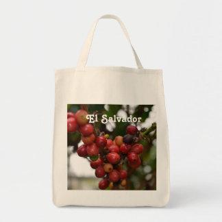 El Salvador Coffee Beans Tote Bag