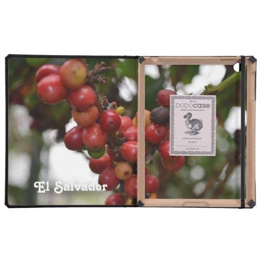El Salvador Coffee Beans iPad Folio Case