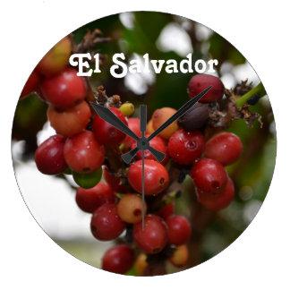 El Salvador Coffee Beans Clocks