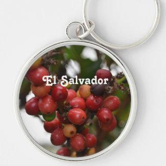 El Salvador Coffee Beans Keychains