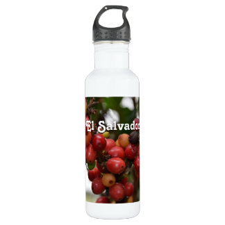 El Salvador Coffee Beans 710 Ml Water Bottle