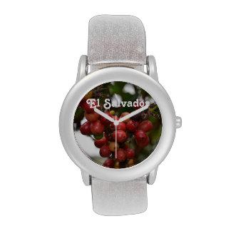 El Salvador Coffee Beans Wrist Watches