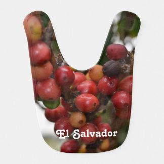 El Salvador Coffee Beans Bib