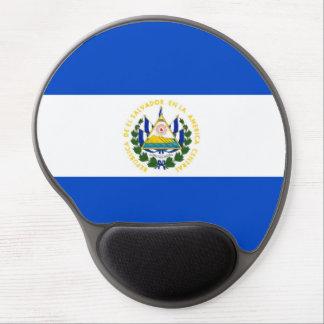 El Salvador country long flag nation symbol republ Gel Mouse Pad
