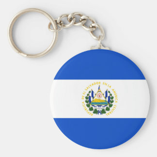 El Salvador country long flag nation symbol republ Key Ring