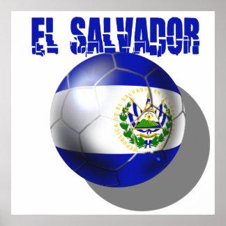 El salvador Cuscatlecos World Cup Soccer 2014 Poster