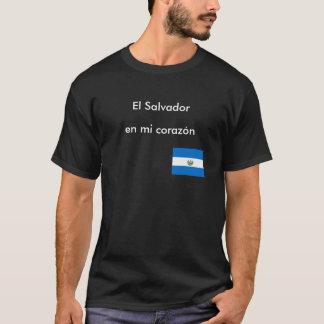 """""""El Salvador en mi corazon"""" T-shirt"""