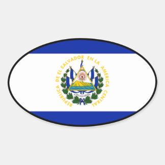 El Salvador Euro Sticker