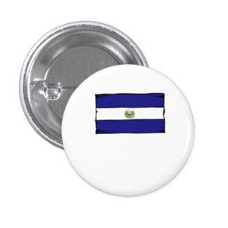 El Salvador Flag Buttons