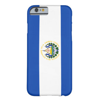 El Salvador Flag Barely There iPhone 6 Case
