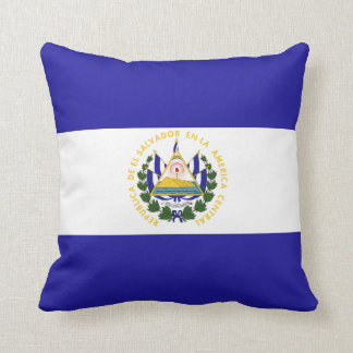 El Salvador Flag Cushion