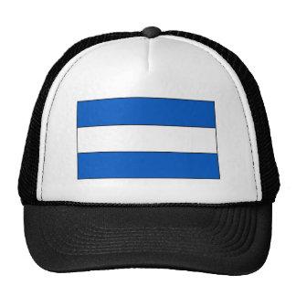 El Salvador Flag Mesh Hats