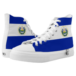 El Salvador Flag High Tops