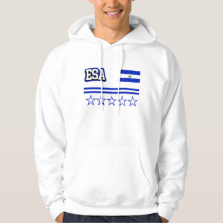 El Salvador Flag Hoodie