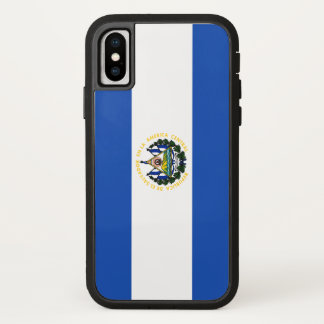 El Salvador Flag iPhone X Case