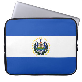 El Salvador Flag Laptop Sleeve