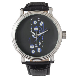 El. Salvador Flag Musical Notes Wrist Watches