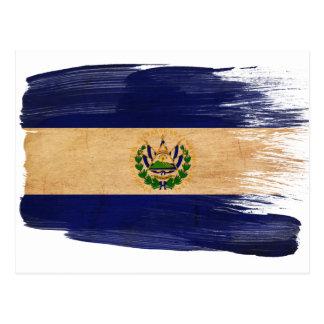 El Salvador Flag Postcards