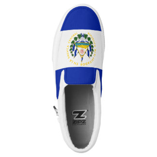 El Salvador Flag Printed Shoes