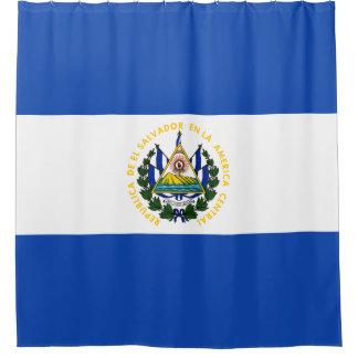 El Salvador Flag Shower Curtain